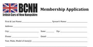 BCNH Membership